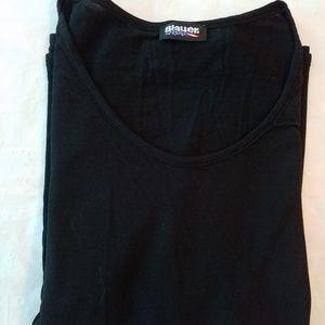 Lightweight black Jersey top